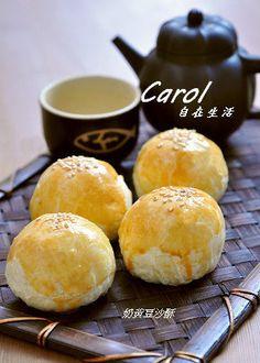 Carol 自在生活  : 奶黃豆沙酥
