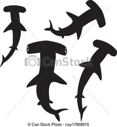 hammerhead shark silhouette - Google Search Shark Silhouette, Silhouette Curio, Aboriginal Art Animals, Shark Images, Shark Drawing, Shark Art, Shark Tattoos, Hammerhead Shark, Hawaiian Theme
