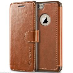 Loving this case!! Classy! iPhone 6 Leather Executive Wallet Case Cool Cover Best Cases - NEW #Apple