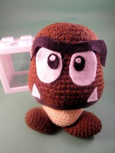 A gumba Amigurumi? Its adorable...