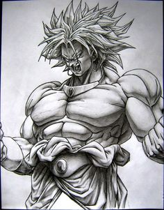 broly, enjoy the visual orgasm one of my favorite drawings i have made here are some colored versions some ppl have done of my broly Broly the super saiyan Dragon Ball Image, Dragon Ball Gt, Dbz Drawings, Desenho Tattoo, Z Arts, Anime Sketch, Art Graphique, Super Saiyan, Sketches