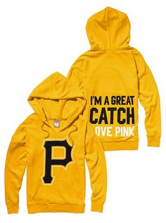 Pittsburgh Pirates Slouchy Hoodie - Victoria's Secret Pink