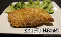 A delicious, simple, and versatile low carb breading for all sorts of fried or baked keto foods.