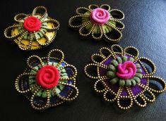 lots of zipper crafts