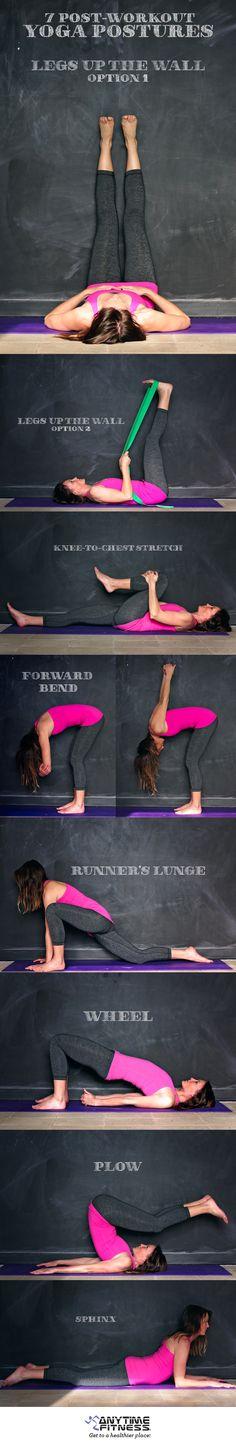 7 Post-Workout Yoga Postures - Anytime Fitness