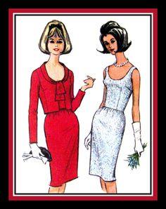 Vintage 1964CLASSY JACKI OCocktail Dress by FarfallaDesignStudio, $18.00