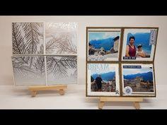Anleitung: Zauberkarte 5: Quadratische Endloskarte │Mini-Album │One-Sheet-Album │Stampin' Up!® - YouTube Mini Books, Up, Diys, Album, Advent, Cards, Scrapbooking, Youtube, Card Crafts