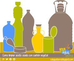 Como limpiar aceite reciclado con carbón vegetal