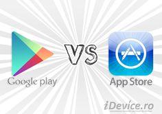 App Store si Google Play au cate 1.3 milioane de aplicatii fiecare