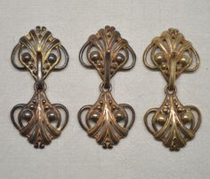 Hook and Eye Clasps Closures Neoclassical by FrenchQueensRansom, $10.00