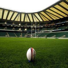 Watch a 6 Nations England game at Twickenham Rugby Stadium. Pumas, Images Of England, Twickenham Stadium, Ireland Rugby, British Lions, Richmond Upon Thames, Overwatch, Sports Stadium, Sports