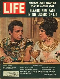 item details: Entire Issuekeywords: Elizabeth Taylor, Richard Burton, Cleopatra, Baseball Cards