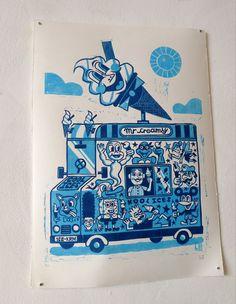 Mountain People - Liam Barrett Illustration