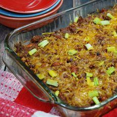 Cowboy Brisket Casserole Recipe All Things Creative Cooking Recipes Leftover Brisket