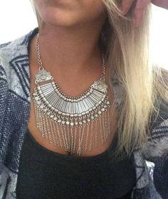 maxi colar - bijoux sem marca