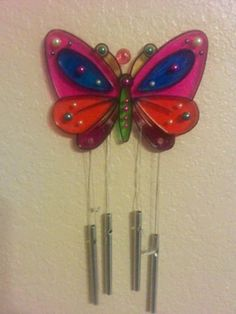 """This is one of our finished wind chimes!! We had lots of fun using our Bic Mark It markers!"" -Jennyleigh"