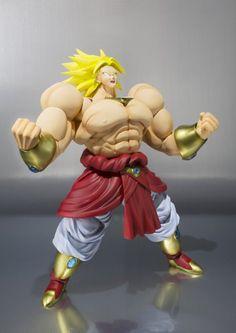 "Amazon.com: Bandai Tamashii Nations SH Figuarts Broly ""Dragon Ball Z"" Action Figure: Toys & Games"