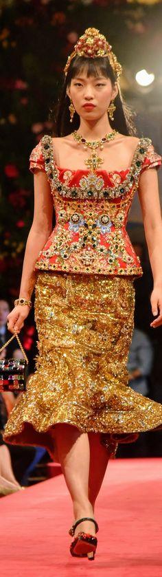 Dolce & Gabbana in Hong Kong Alta Moda Fall 2016
