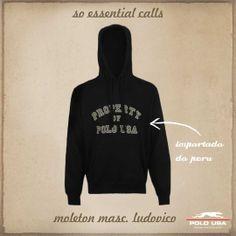 Moletom Masculino Polo USA Hoodies, Sweatshirts, Polo, Sweaters, Fashion, Mens Sweatpants, Flare Leg Jeans, Clothes, Moda