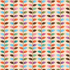 Woodland Critters Fabric From SPX 61 Multicolored Leaf Garland Vine with Dots Polka Dots Sewing Machine Service, Woodland Critters, Dressmaking Fabric, Leaf Garland, Cushion Fabric, Fabulous Fabrics, Couture, Fabric Online, Leaf Prints
