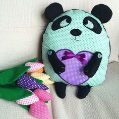 Panda pillow. Подушка-сплюшка панда
