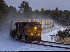 RailPictures.Net Photo: BNSF 5438 BNSF Railway GE C44-9W (Dash 9-44CW) at Bellemont, Arizona by David Carballido-Jeans