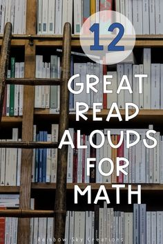12 awesome picture books that will help you teach your primary and elementary students math concepts. Books range from counting, to multiplication and division to measurement texts. teaching math, literacy in math Math Literacy, Teaching Math, Math Education, Math Activities, Teaching Resources, Teaching Ideas, Math Games, Professional Development For Teachers, Interactive Journals