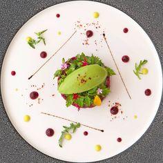 New menu Food&Life at the Restaurant Joël Robuchon Food Concept, Food Decoration, Food Menu, Chefs, Creative Food, Food Presentation, Food Design, Food Plating, Food Dishes