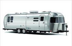 Finally, an Airstream that sleeps 8!!! (It has a bunk) In my dreams.  This is beautiful. Airstream, Inc