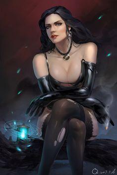 The Witcher Yennefer of Vengerberg