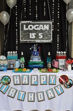 "Photo 1 of 20: Star Wars / Birthday ""Jedi Logan turns 5!"" 