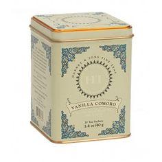 Vanilla Comoro – Tea Sachets, HT Tin of 20