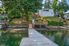 80' private dock on property