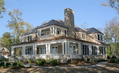 Brehm Architects: Lake New classically detailed, shingle style vacation home in South Haven, MI
