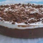 Mousse de Chocolate com Palitos de Champanhe