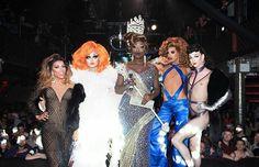 Shangela, Kim Chi, Bob the drag queen, Naomi Smalls and Violet Chachki