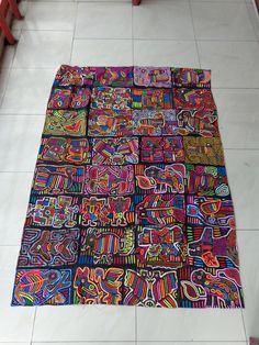Molas in Panama ideas for paintings, collages, marker drawings.