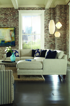 Ordinaire Townsend Sectional, Rowe Furniture   Transitional   Sectional Sofas    Richmond   Home Gallery Stores