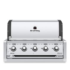 Broil King Regal Built-In Propane Gas Grill - Stainless Steel - 886714 Trager Grill, Built In Gas Grills, Pizza Oven Fireplace, Outdoor Refrigerator, Kamado Grill, Propane Gas Grill, Stainless Steel Grill, Charcoal Grill, Grilling