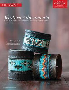 Southwestern Beaded Cuff Bracelets