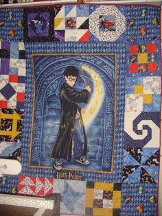 Harry Pothead quilt