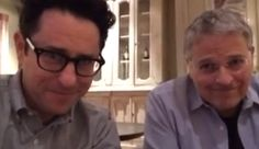 "Video Greeting from J.J. Abrams | Alongside Abrams is Star Wars Episode VII writer Lawrence Kasdan. ""..We feel very fortunate to be here in London working on the next Star Wars script,"" says Kasdan, and Abrams notes that casting announcements will continue!"