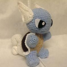 Wartortle (Crochet) by SirPurlGrey.deviantart.com on @DeviantArt
