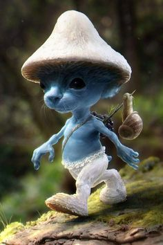 Smurfs in real life