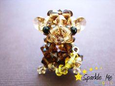 monkey - made from swarovski crystals