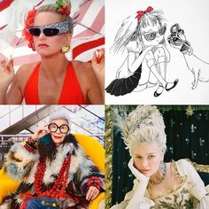 I was recently asked who was my style icon and I think I actually think it may be more than just @iris.apfel and @theplazaeloise. @officialgoldiehawn in Overboard and @kirstendunst 's Marie Antoinette have had big influences on me too. Do I have schizophrenia? #shopaholic #styleicons #styleicon