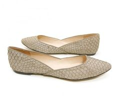BarefootTess.com TESS by Barefoot Tess 'Madrid' Flat from All Black (Taupe)