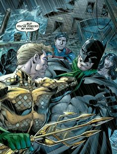 Aquaman vs Batman