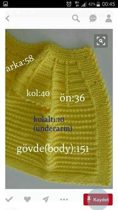 Knitting Needles, Baby Knitting, Crochet Baby, Knit Crochet, Baby Girl Vest, Vest Pattern, Baby Yellow, Winter Trends, Erdem