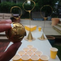 "kikibusta: ""Harry Potter Beer Pong I Made For My Grad Party. Theme Harry Potter, Harry Potter Birthday, Harry Potter Love, No Muggles, Drinking Games, Beer Pong, Grad Parties, College Parties, Dinner Parties"
